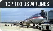 Top-100 US Airlines in 2013 by Passengers and Cargo Transported