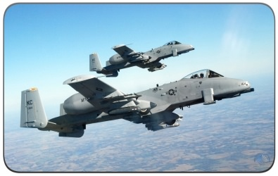 The A-10 Thunderbolt II aka Warthog