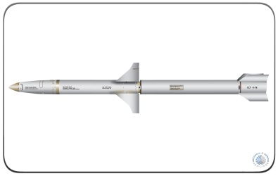 The AGM-88 HARM Air-to-Surface Anti-Radiation Missile