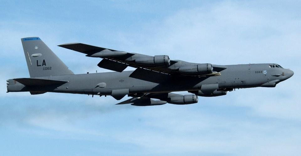 The B-52H Stratofortress