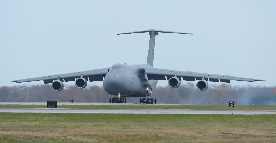 The C-5 Galaxy Strategic Airlifter