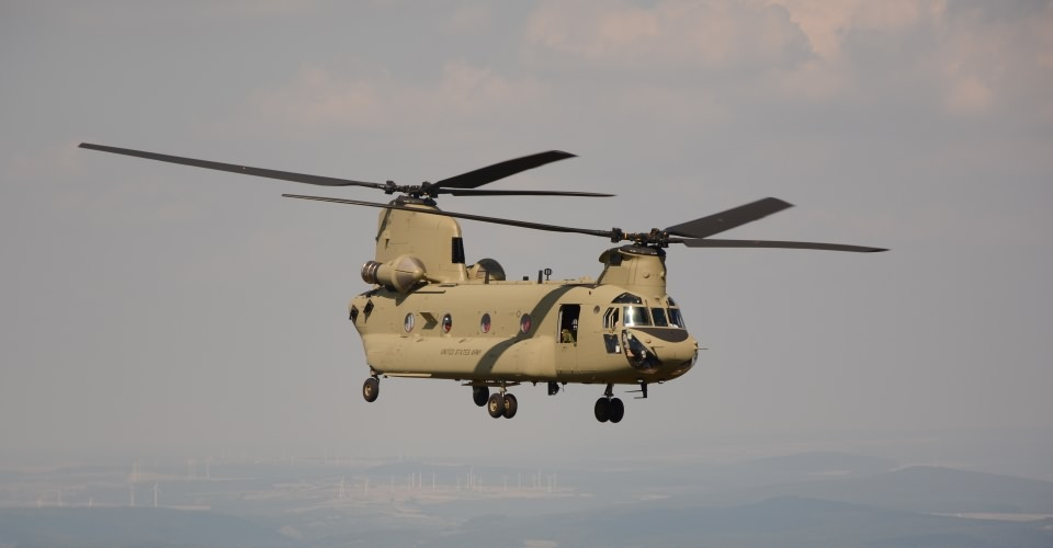 The CH-47 Chinook