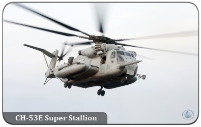 The CH-53E Super Stallion