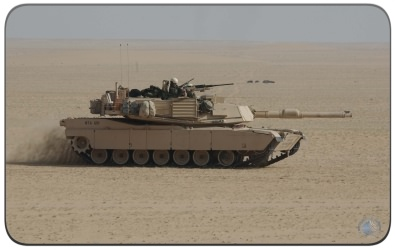 The M1 Abrams Main Battle Tank