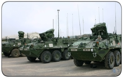 The Stryker Armored Vehicle