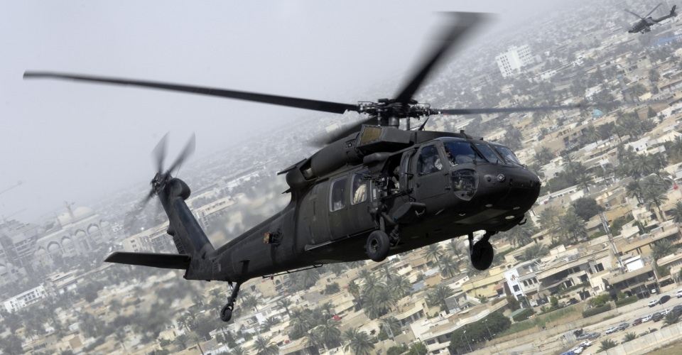 The U.S. Army's UH-60 Black Hawk Utility Helicopter